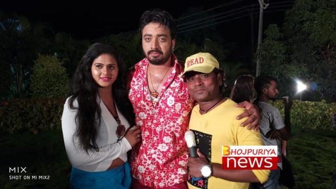Sanjiv Mishra and Chandni Singh's film Badrinath shoot in Gujarat
