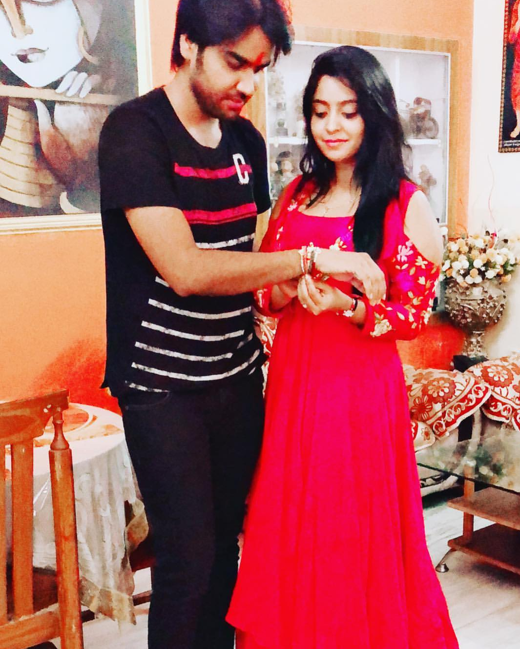 See how Shubhi Sharma celebrated the Raksha Bandhan
