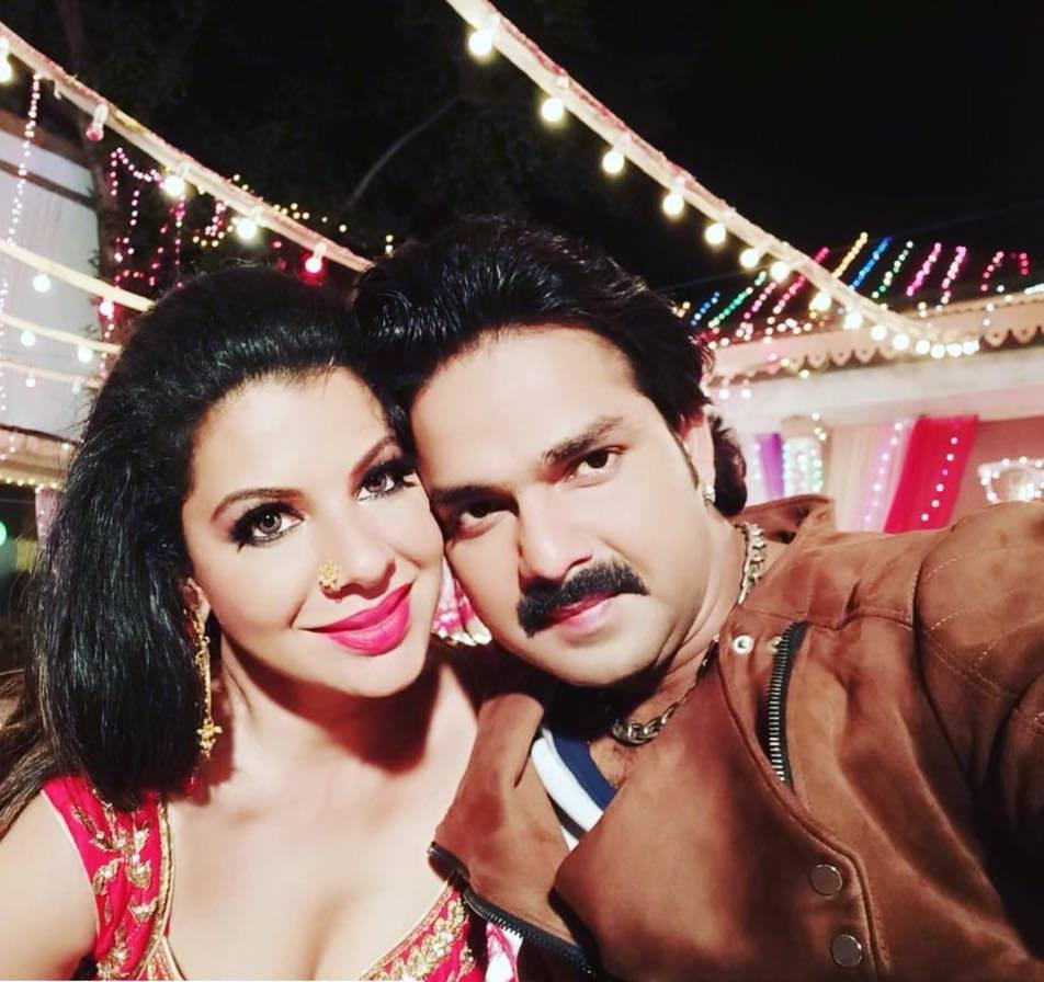 Pawan Singh and Chopra Seth together in the movie 'Sher Singh