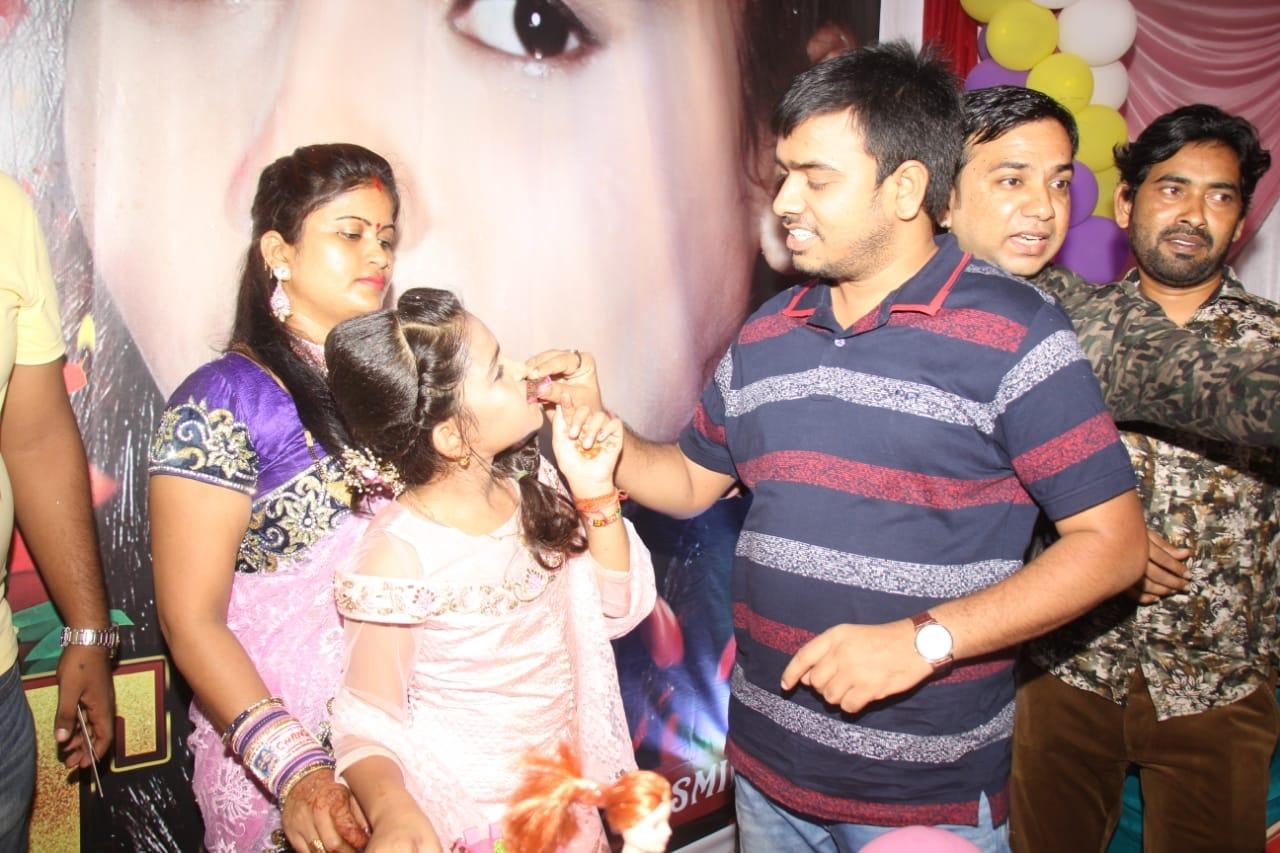 Khesari's daughter Kirti's birthday party was missing from the party Kajal Raghavani