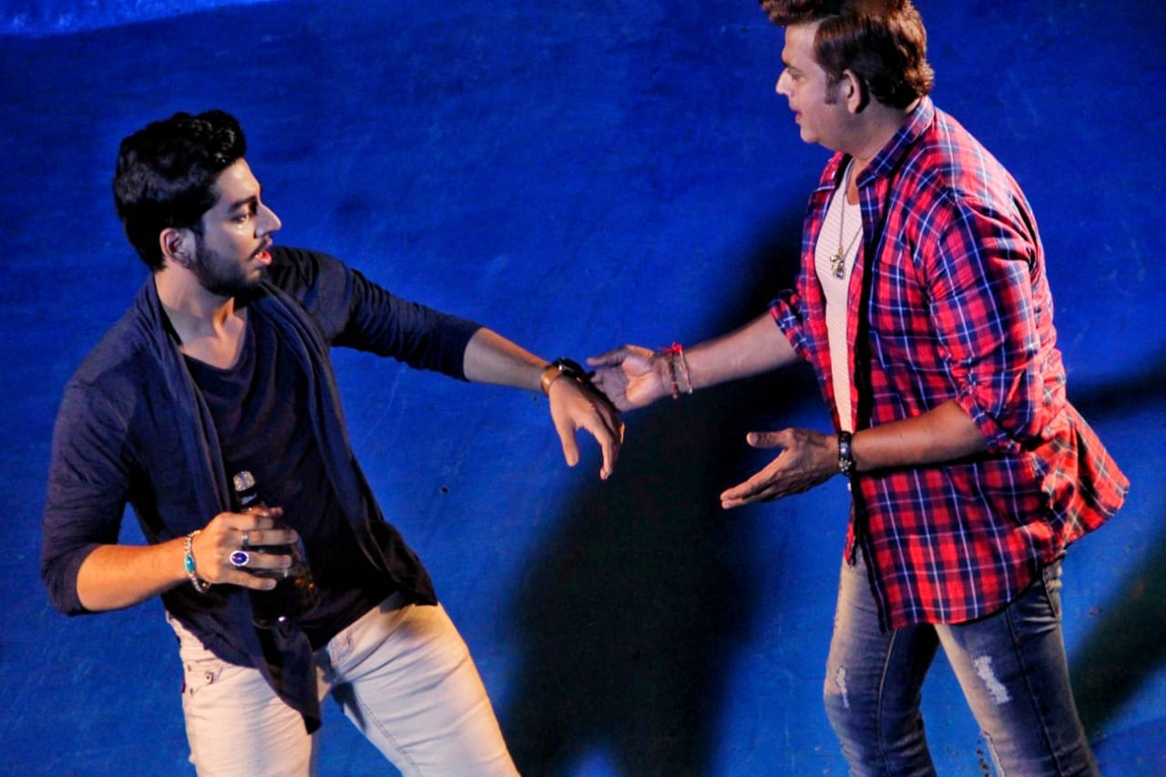 Actor Kishan Rai injured in shooting with Ravi Kishan