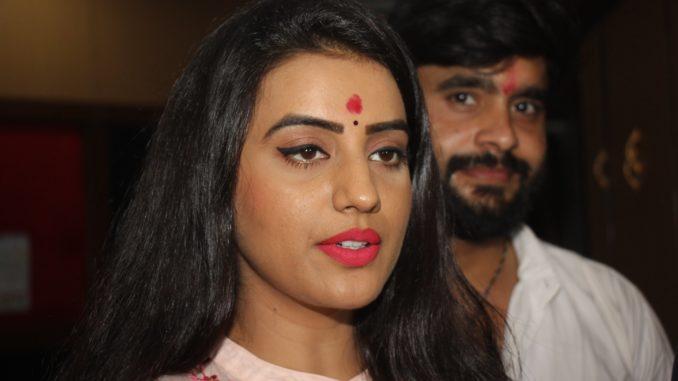 Akhara Singh and Amrish Singh's first Bhojpuri film