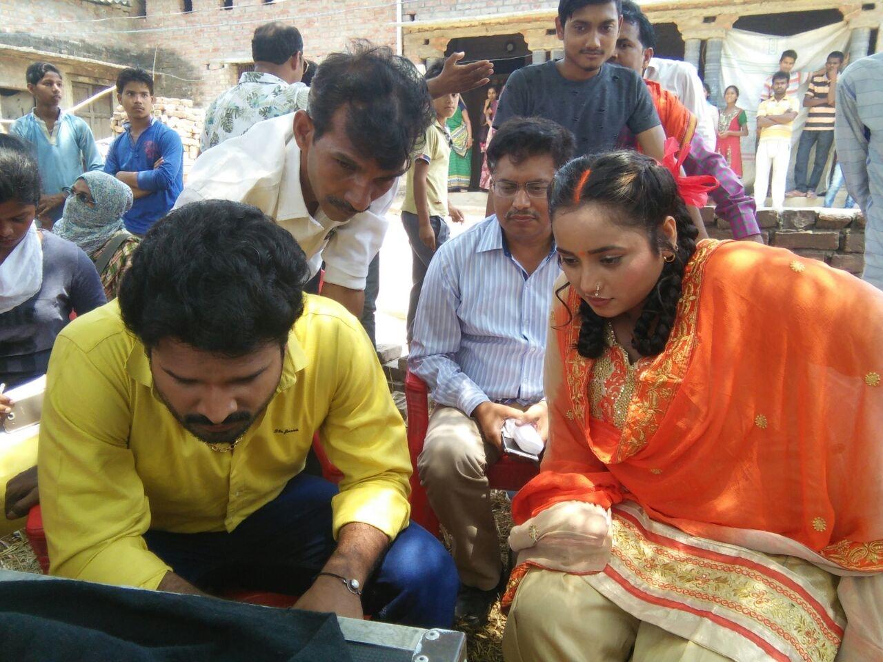 Rani Chatterjee and Riteish Pandey together film 'Rani Weddes Raja'