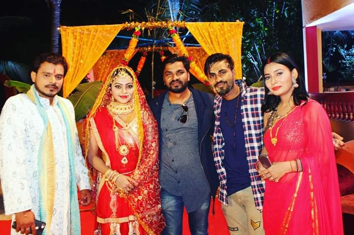 Pramod Lover - Kajal Yadav Starrer Bhojpuri film 'Jamai Raja' starts shooting