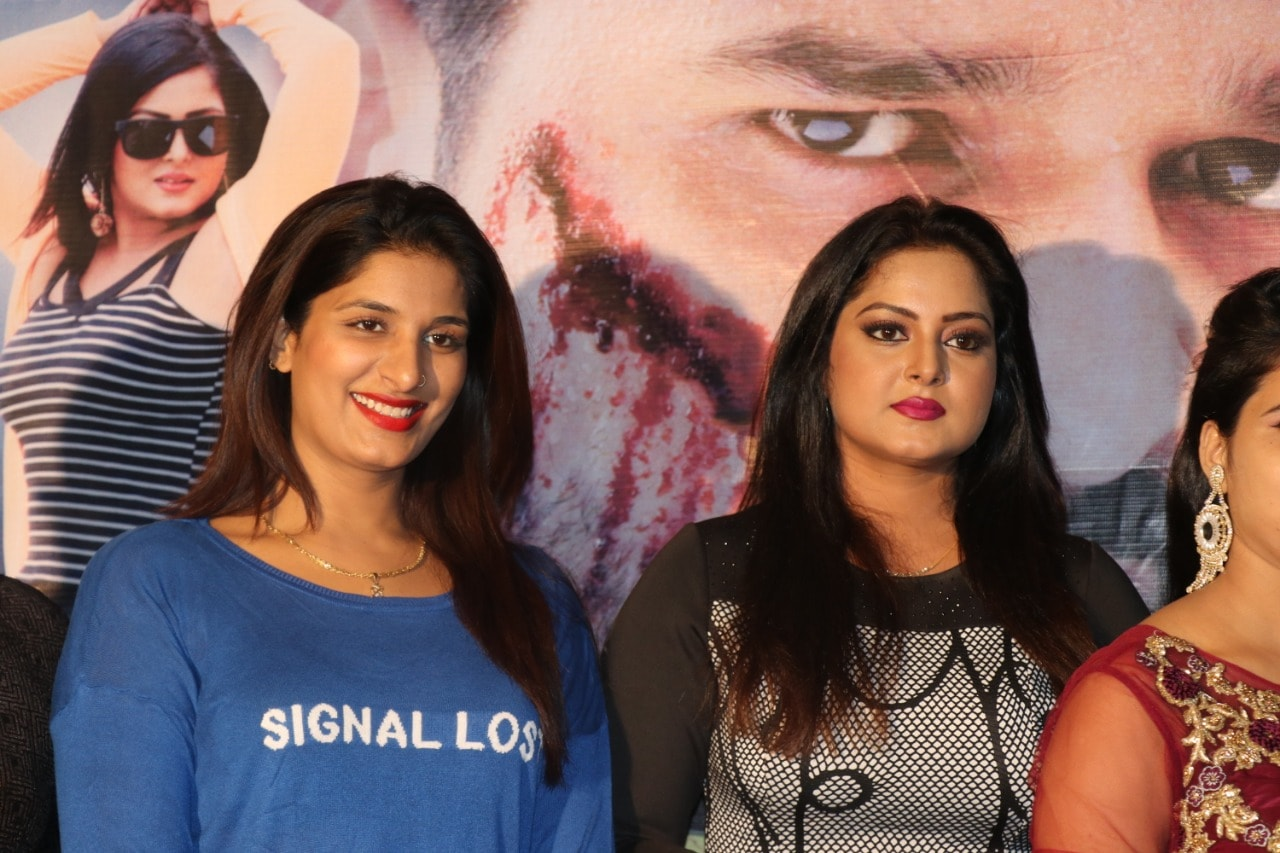 Pramod Lover, Anjana Singh and Poonam Dubey's movie 'Krodhaa Muhurat'