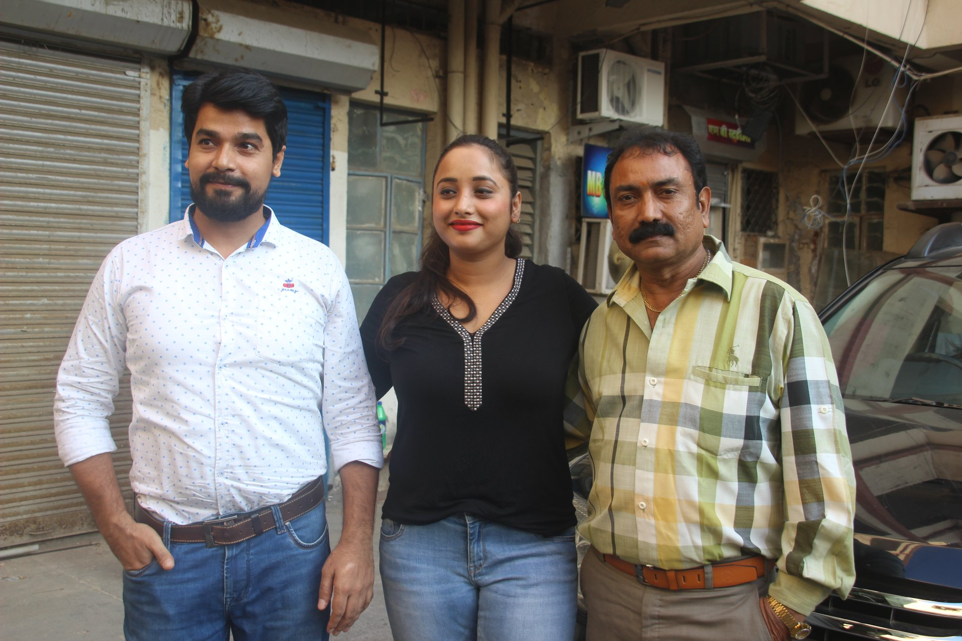 Rani Chatterjee launches dubbing film 'Bimasal Khiladi'