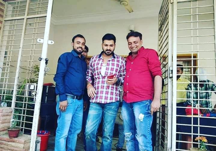 Crack Fightere Bhojpuri Movie Shooting