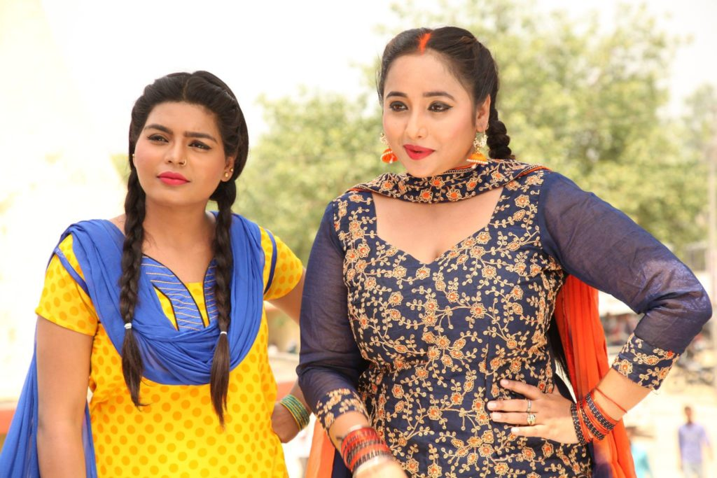 Rani Weds Raja Ritesh Pandey Bhojpuri Movie Shooting Photo