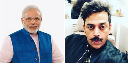 Ravi Kishan ready in Narendra Modi's welcome