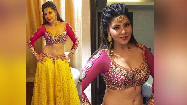 Sher Singh Pawan Singh Amrapali Dubey Bhojpuri Movie Shooting Photo