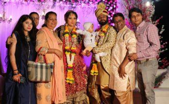 Seema Singh - Saurav Kumar with Dance Master Kanu Mukharjee Family